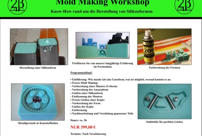 Mold Making Workshop