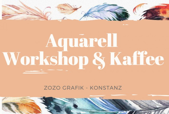 Aquarell Workshop & Kaffee